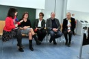 "LMU Munich, International conference ""Media Literacy in Foreign Language Education: Digital and Multimodal Perspectives"" March 2017 Closing panel: Christiane Lütge, Mary Kalantzis, Catherine Beavis, Gunther Kress and Bill Cope"
